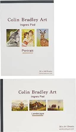 30 feuilles de papier couleur Ingres sable A4 Fabriano Twin Pack Comprend A3