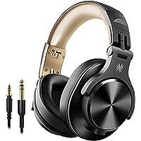 OneOdio Bluetooth Kopfhörer Over Ear, Geschlossene HiFi Studiokopfhörer, kabellos Headphones 40 Stunden,kabelgebundene…