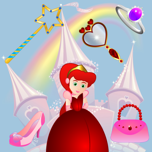 Spiele für kleine Mädchen - Prinzessinnen : Entdecken Sie das Leben einer Prinzessin ! Pädagogisches Puzzle Spiele für Kinder