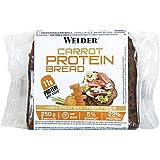 Weider Pan Proteico con 11g de proteína y un 5% de zanahoria por rebanada, 250 g, 5 porciones