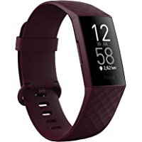 Fitness-Tracker Fitbit Charge 4 mit GPS, Schwimmtracking & bis zu 7 Tage Akkulaufzeit, Palisander