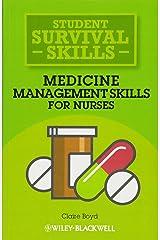 Medicine Management Skills for Nurses (Student Survival Skills) Paperback
