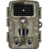 VANBAR Wildkamera 20MP 1080P Full HD Wildkamera mit Bewegungsmelder Nachtsicht IP66 Wasserdichter und 0,2s Schnelle Trigger G