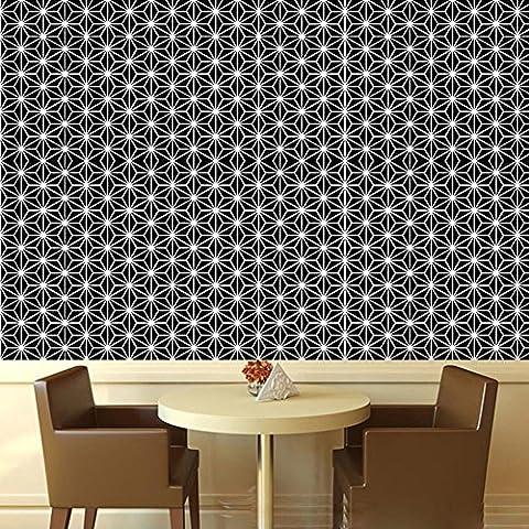 Sticker géométrique en forme de motif géométrique Autocollant Autocollant Eco-friendly