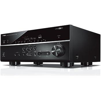 YAMAHA RX-V685 – Amplificateur Home Cinema 150W – Système Bluetooth, Wifi, Airplay, Multiroom – Compatible avec smartphones et ordinateurs – Noir