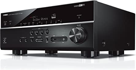 Yamaha AV-Receiver RX-V685 MC schwarz – Netzwerk-Receiver mit außergewöhnlichem 7.2 Music Cast Surround-Sound - das Allround-Talent im Heimkino-System – Alexa Sprachsteuerung