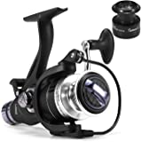 9+1 BB Fishing Reel Dual Brake System Smooth Spinning Reel with Interchangeable Handle Fishing Tackle
