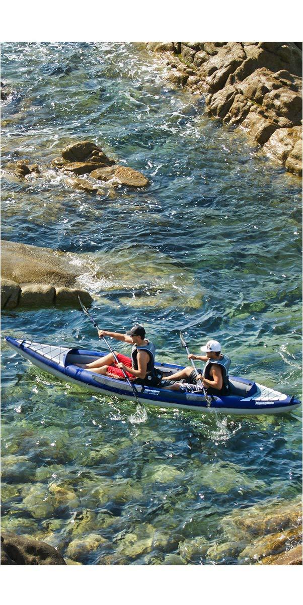 717Yr%2Bo1eXL - Aquaglide Columbia XP XL Tandem Kayak + 2Free Paddles + Pump