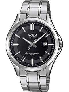 Analog Quarz 100l Mit Casio 7avef Herren Leder Armband Mts Uhr qSzVpGjULM