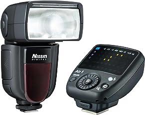 Nissin Di700A + Commander Air 1 Slave flash Black - Camera Flashes (Slave flash, Black, 4 s, Canon, 5600 K, 0.7-6)