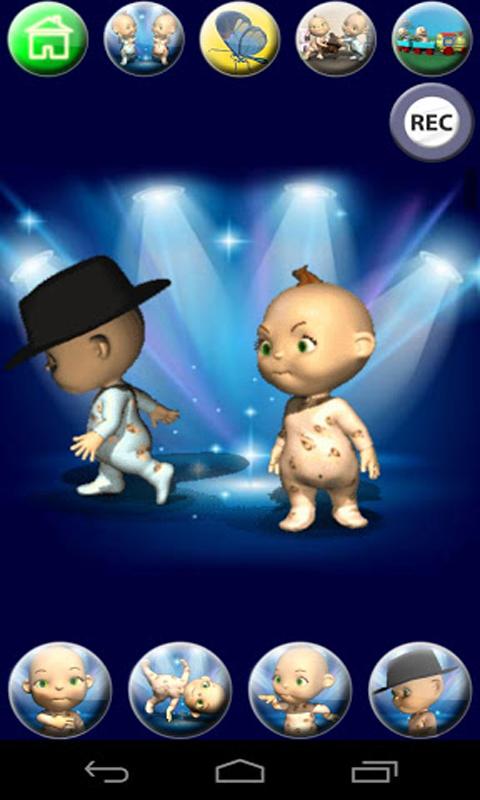 Zoom IMG-2 talking baby twins free