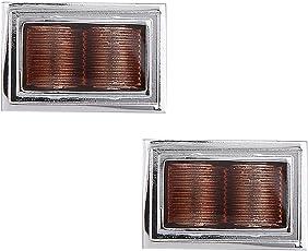 Tripin Metal Cufflinks Set for Men in A Gift Box