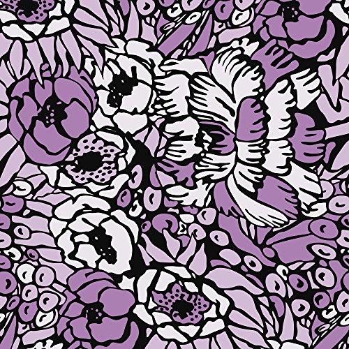 Apple iPhone SE Case Skin Sticker aus Vinyl-Folie Aufkleber Flower Muster Lila DesignSkins® glänzend
