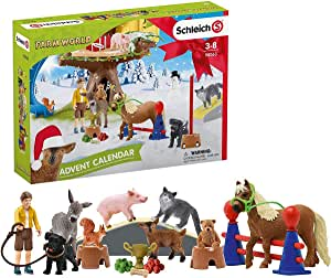 Schleich 98063 Advent Calendar 2020 Farm World: Amazon.de: Spielzeug