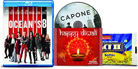 Ocean's 8 + Capone - 2 English Movies (2 Blu-ray bundle offer)