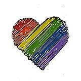 Badgepinworld Spilla LGBT Gay Pride Love Heart