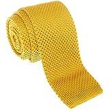 Cravatta a maglia Retreez, modello Vintage, stile Casual elegante, da uomo 5,1cm, in vari colori