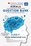 Oswaal Kerala SSLC Question Bank Class 9 Social Science Chapterwise & Topicwise (For March 2020 Exam) Old Book