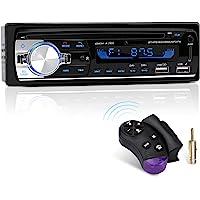 Autoradio Bluetooth, CENXINY 1 DIN Radio Voiture Récepteur avec Lecteur MP3 WMA FM Télécommande, Deux USB Port,Main…