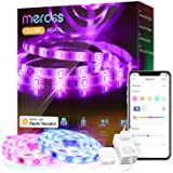 Tiras LED Wi-Fi Luces LED RGB 10M (5m*2), Tira de Luz IP20, 12V, Admite DIY. Compatible con HomeKit Siri, Alexa, Google Assis