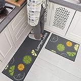 on the web Kitchen Rug Flat Back Non-Slip Multi-Purpose Lane Hallway Bathroom Bedroom 57x180 cm green ARRENDIAMOINSIEME