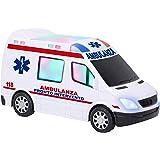 w' Toy–Ambulancia B/O Movimiento mistero Luces Sonidos, 38188