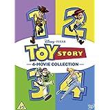 Toy Story 1-4 [Italia] [DVD]