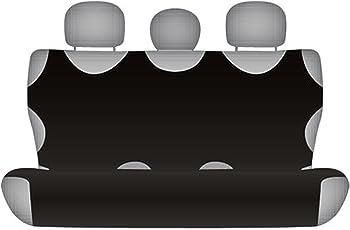 ZentimeX Z711095 Sitzbezüge Rückbank T-Shirt-Design Baumwolle schwarz