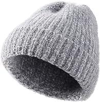 VBIGER Wintermütze Strickmütze Warme Beanie Winter Mütze und Schal mit Fleecefutter für Damen und Herren