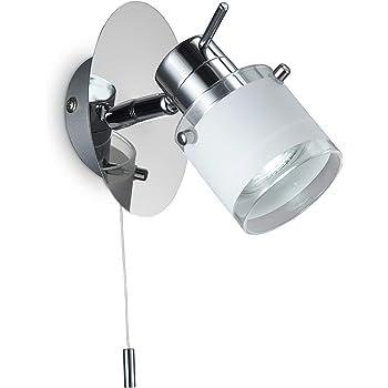 Modern Led Wall Light Bathroom Wall Fitting Adjustable Spotlight