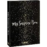 BIC My Surprise Box - Set Regalo Con 14 Strumenti Di Scrittura, 4 Penne A Sfera/5 Pennarelli Con Punta In Feltro Metallizzati
