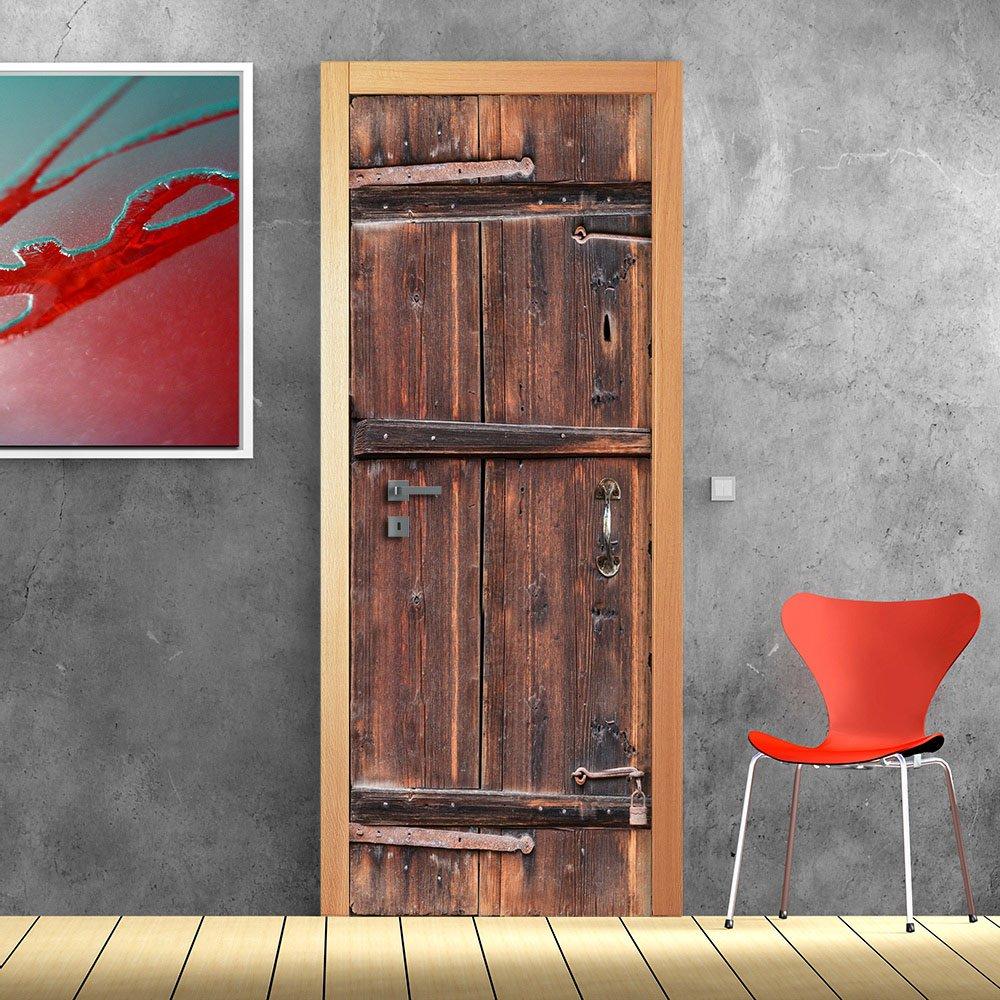 PT0180 Wall Art Decorazione adesiva per porte arredo casa - Porta ...