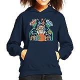 Pikmin Friendly Alien Flora Kid's Hooded Sweatshirt