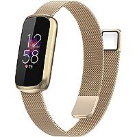 per Cinturini di ricambio in acciaio inossidabile Fitbit Luxe/Edizione speciale Cinturino orologio in maglia milanese…