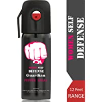 Guardian MAX Strong Women's Self Defense Pepper Spray for Safety, 45 Shots, 55 ml