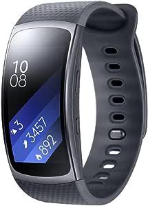 Samsung Gear Fit2 Smartwatch Aktivitätstracker Mit Pulsmesser Größe L Schwarz Sport Freizeit