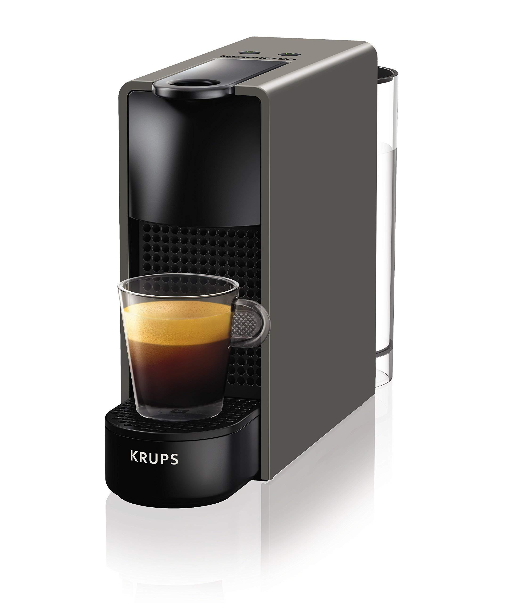 Nespresso Krups Essenza Mini – Cafetera monodosis de cápsulas Nespresso