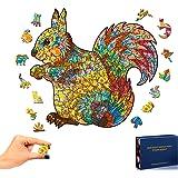 Puzzles en Bois pour Adultes et Enfants, Puzzles en Bois Forme Animale Bricolage Puzzle pièce Famille Jeu Jouer Collection dé