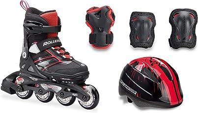 Rollerblade Spitfire Cube Inline Skate Black/Red
