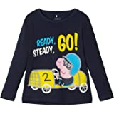 NAME IT Nmmpeppapig Fabian LS Top Noos Pep Camiseta para Niños