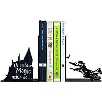 HeavenlyKraft Decorative Metal Bookend, Non Skid Book End, Book Stopper for Home/Office Decor/Shelves, 5.9 X 4.72 X 3.14…