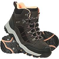 Mountain Warehouse Navigate Womens Waterproof Walking Boots - Suede & Mesh Upper, EVA Cushioned, Heel & Toe Bumpers…