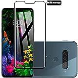 Voviqi Verre Trempé Protecteur écran pour LG G8s ThinQ, Protection Ecran Vitre Film Protection pour LG G8s ThinQ Couverture Complète Anti-Rayures Haut Définition, Noir