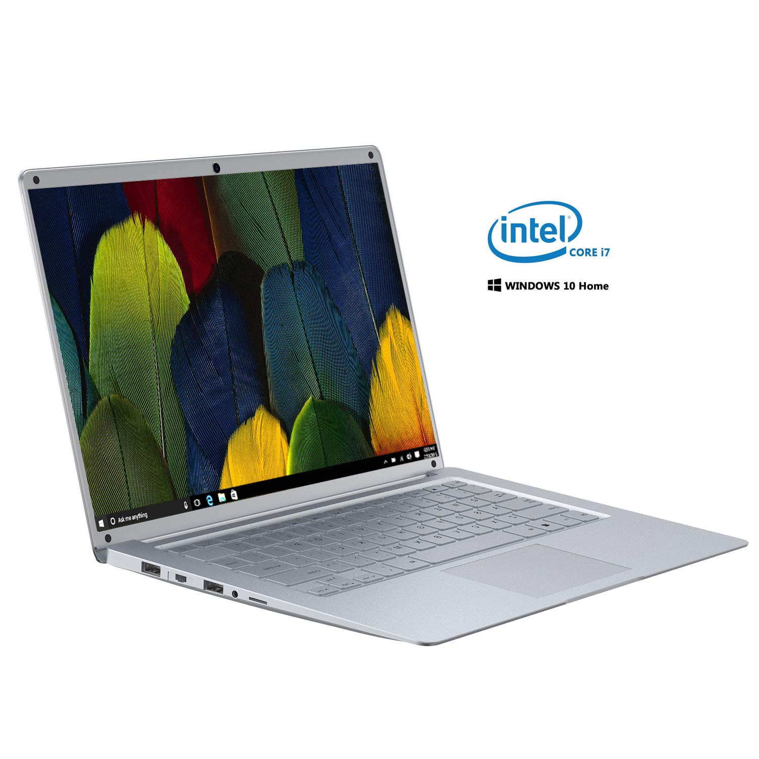 "Ordenador Portatil Intel Atom Z8350 Ultrabook 14.1""IPS/HD(Notebook Intel Core i7, 2GB RAM, 128GB SSD, Windows 10, Intel HD Graphics 500,"