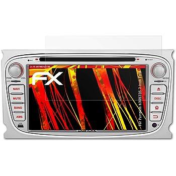 2X HD-Entspiegelung FX Folie atFoliX Schutzfolie kompatibel mit Pumpkin ND1172B 7 Inch BMW Series Displayschutzfolie
