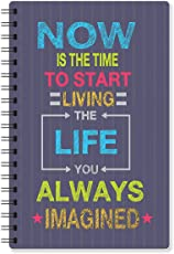 Paper Plane Design A5 Size Daily Planner (N)