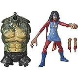 Hasbro Marvel Legends Series- Ms. Marvel Figurina d'Azione, Multicolore, 15 cm, E9184