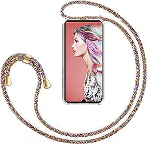 /Ètuis /à Bandouli/ère Coque pour Smartphone /Étui de T/él/éphone avec Cordon Chewing Gum Zhinkarts Collier pour Huawei P30 Lite