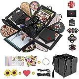 DASIAUTOEM Boîte Surprise, Boîte Cadeau Créative, Coffret Cadeau d'Explosion de Surprise DIY Mémoire Box Album Photo Scrapboo