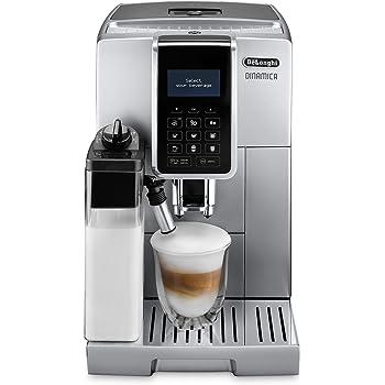 Delonghi Dinamica Machine à Café avec Broyeur, Argent, 1450 W